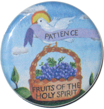 Seven Gifts of the Holy Spirit Buttons