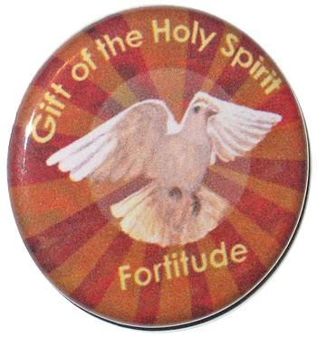 12 Gifts of the Holy Spirit Buttons